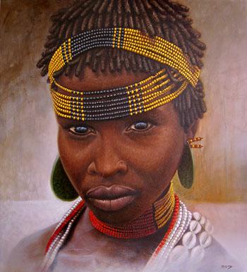 africa Joven 120 x 90 cm