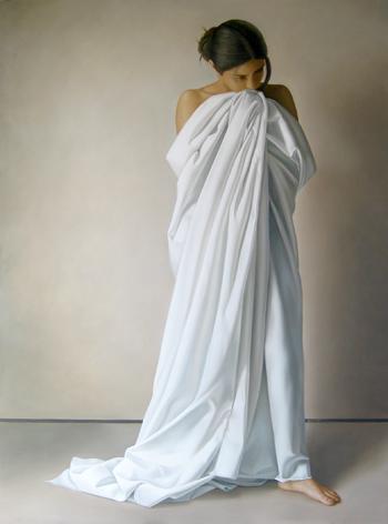 mujer de pie 190 x 145 cm