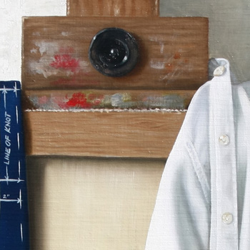 detalle en el estudio 90 x 70 cm