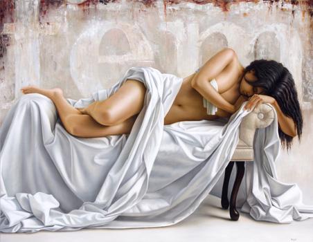 la femme II 140 x 180 cm