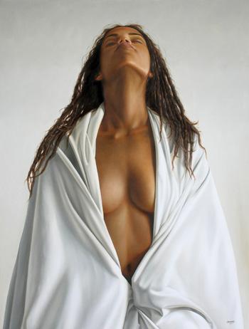 woman 120 x 90 cm