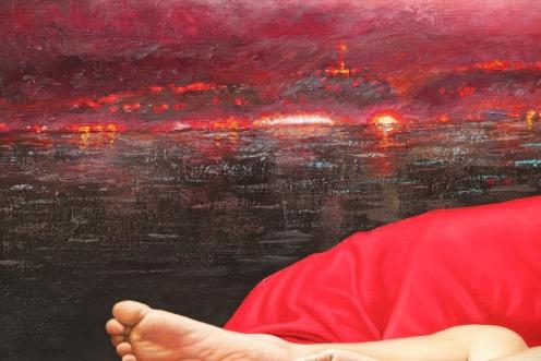 Cielo Rojo 140 x 180 detalle 04