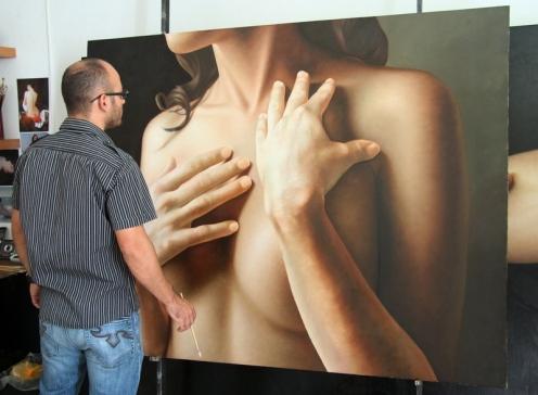 aun sin titulo oleo sobre lino 140 x 180 pintor 01