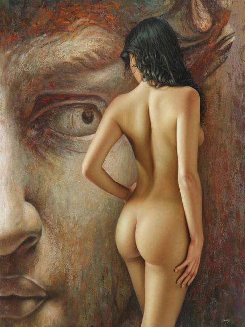 la mirada del coloso 180 x 140