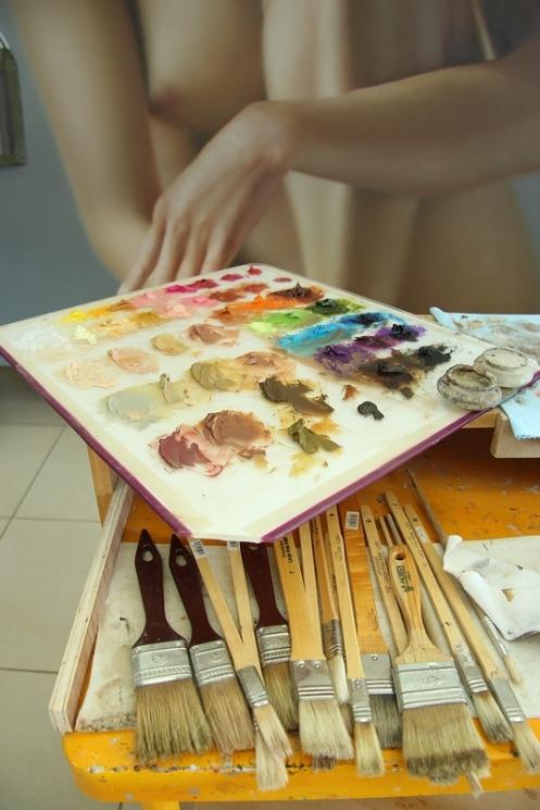 enfoque III 140 x 180 pintor 01