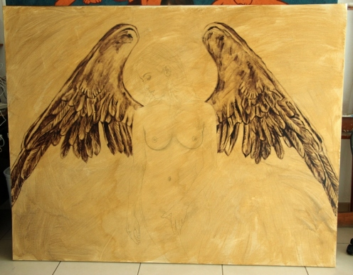 angel III 140 x 180 pintor 01