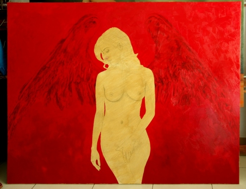 angel III 140 x 180 pintor 02