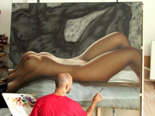 adan y eva 140 x 180 pintor 01