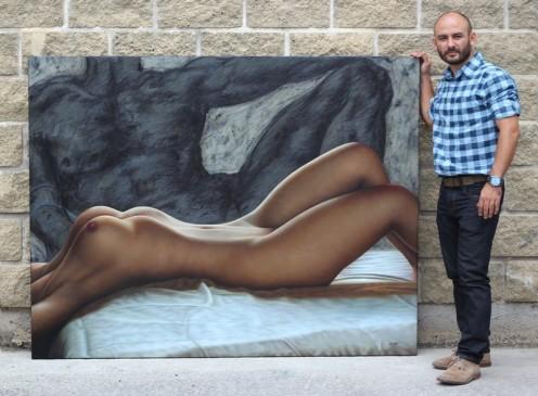adan y eva 140 x 180 pintor 02