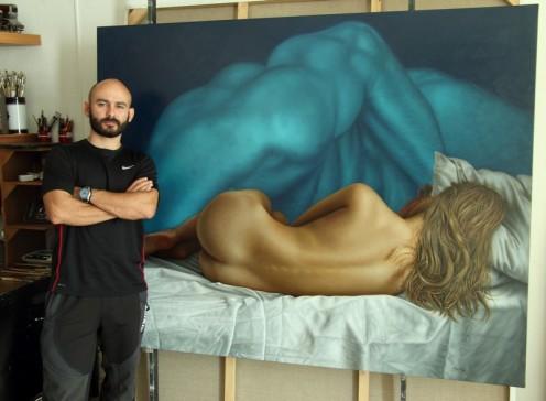 el sueño de morfeo 140 x 180 pintor 02
