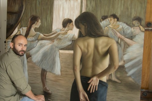 la bailarina 140 x 180 pintor 01