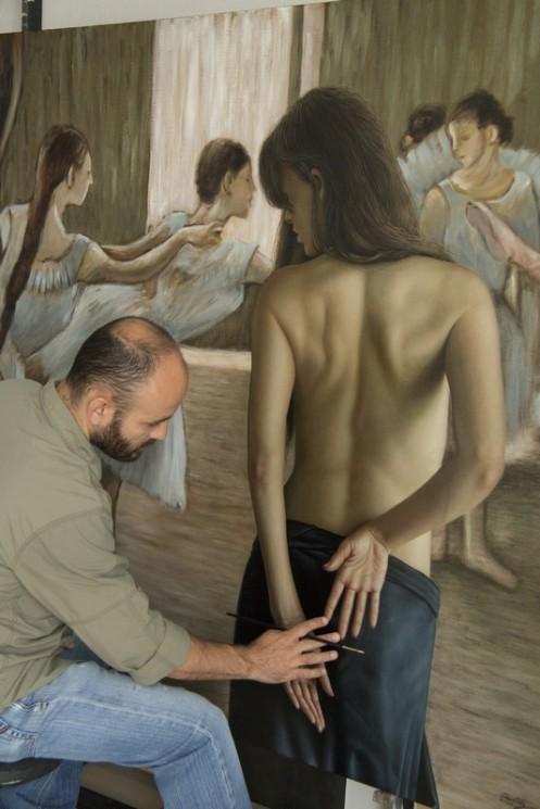 la bailarina 140 x 180 pintor 02