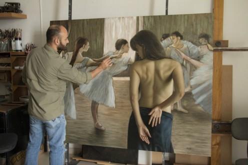 la bailarina 140 x 180 pintor 03