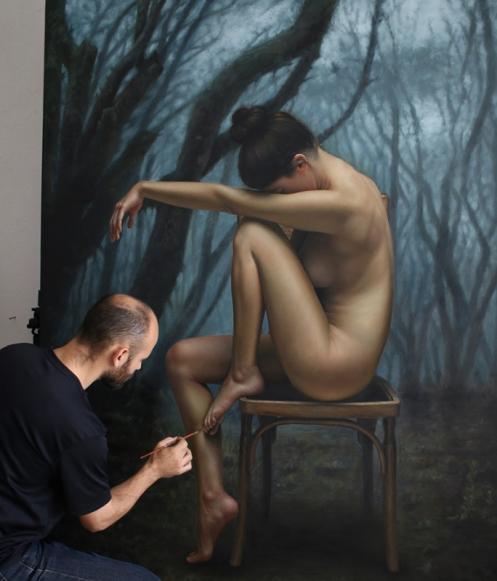 el bosque 180 x 140 pintor 01