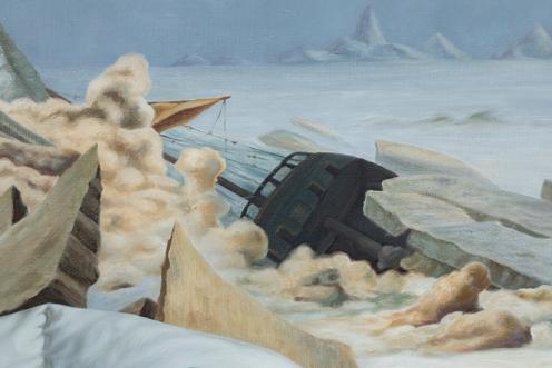 el mar de hielo 140 x 200 detalle 01