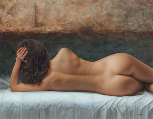 La linea de tu espalda 140 x 180