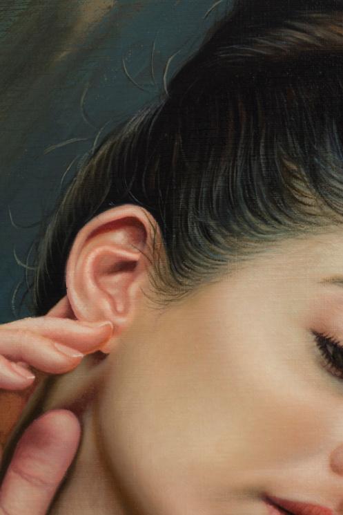 La sensibilidad en la oreja 66 x 48 detalle 07