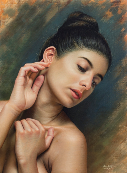 La sensibilidad en la oreja 66 x 48