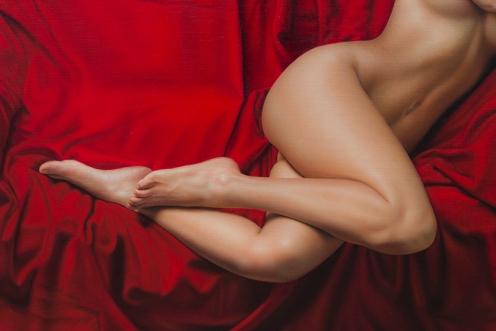 El Drapeado Rojo Carmesí 140 x180 detalle 04