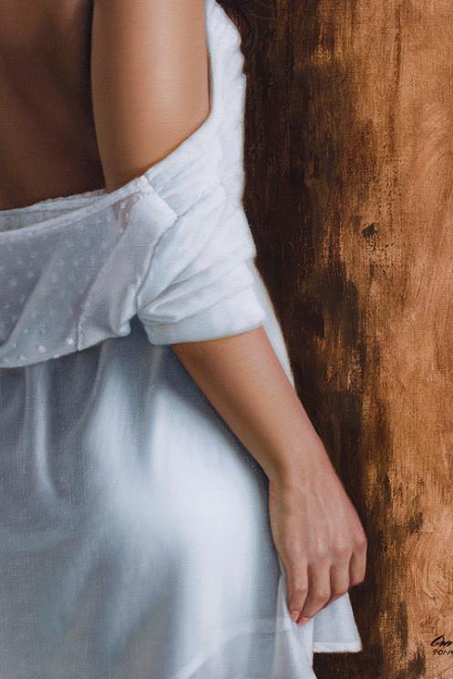 El vestido blanco 90 x 70 detalle 03