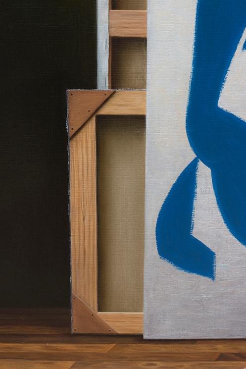 entre bastidores de Matisse 140 x 180 detalle 02
