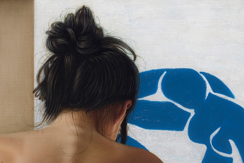 entre bastidores de Matisse 140 x 180 detalle 04