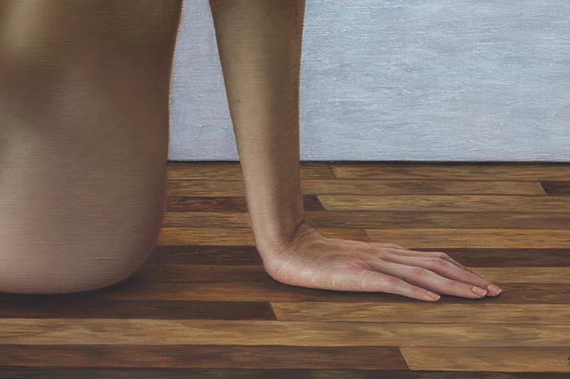 entre bastidores de Matisse 140 x 180 detalle 05