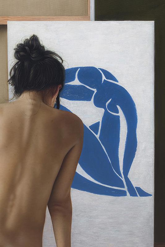 entre bastidores de Matisse 140 x 180 detalle 07