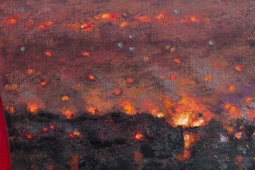 Fuego en el Horizonte 180 x 140 detalle 04